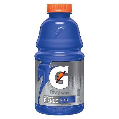 Gatorade Fierce Grape Sports Drink - 32 fl oz Bottle