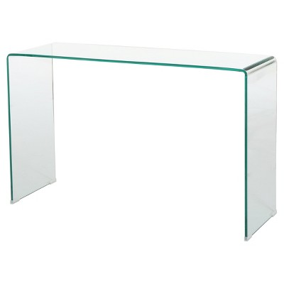 """Ramona 46"""" Console Table Clear- Christopher Knight Home : Target"""