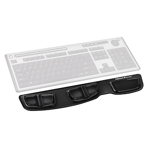 Fellowes® Gel Keyboard Palm Support, Black - image 1 of 1