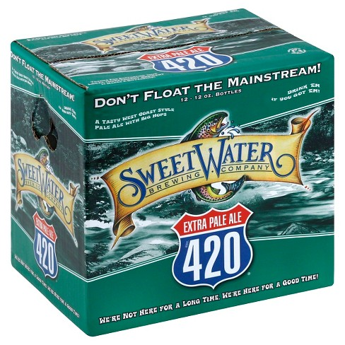 SweetWater® 420 Extra Pale Ale - 12pk / 12oz Bottles - image 1 of 1