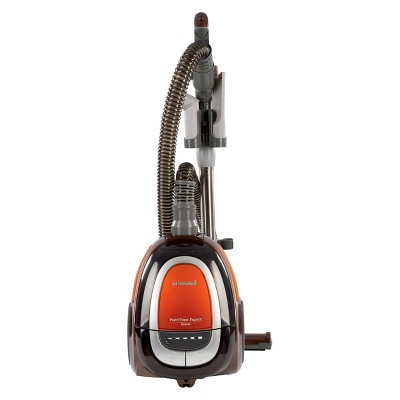 BISSELL Hard Floor Expert Deluxe Canister Vacuum - Burnt Orange 1161