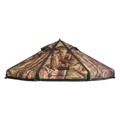 Advantek Pet 5 Foot Pet Outdoor Gazebo Designer Polyester Market Canopy Cover Tarp Umbrella Top, Dark Forest