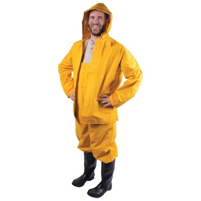 Stansport Commercial .42mm Thick Rainsuit Yellow