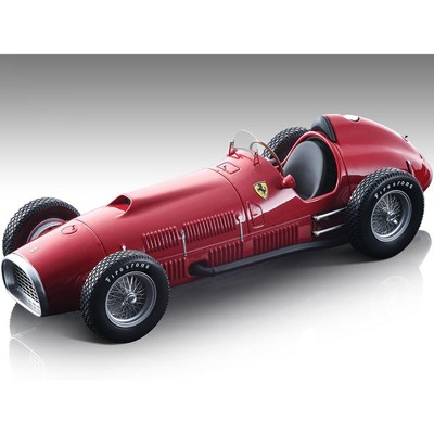 """1952 Ferrari 375 F1 Indy Racing Red Press Version """"Mythos Series"""" Limited Edition to 110 pieces 1/18 Model Car by Tecnomodel"""