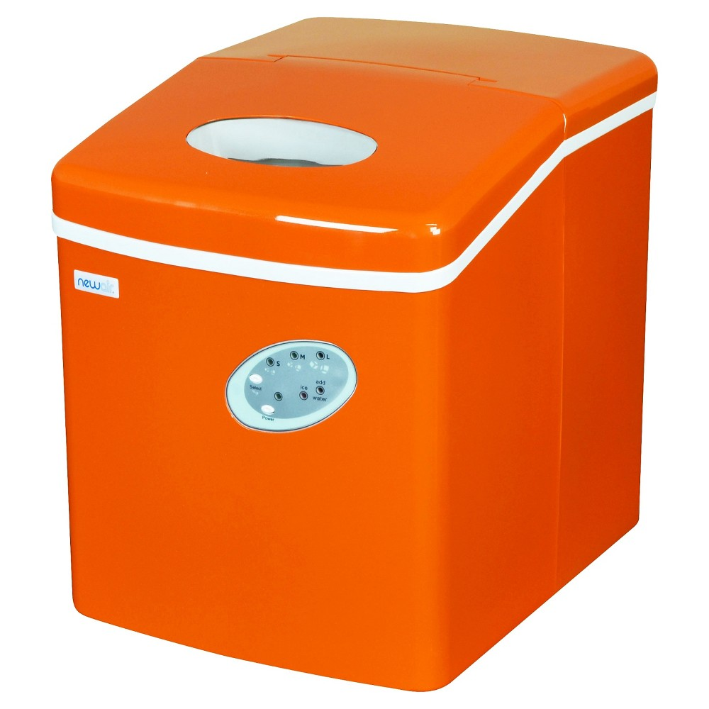 NewAir 28lb Portable Ice Maker – Orange AI-100, Orange Sorbet 50145850