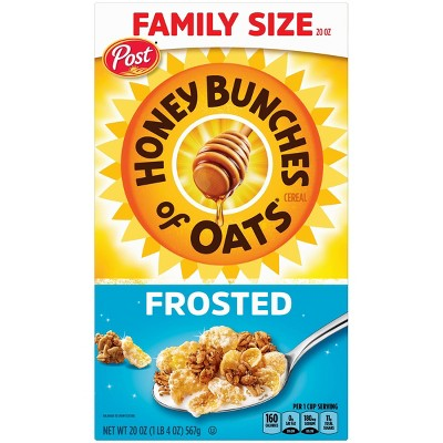 Honey Bunches of Oats Frosted Breakfast Cereal 20oz - Post