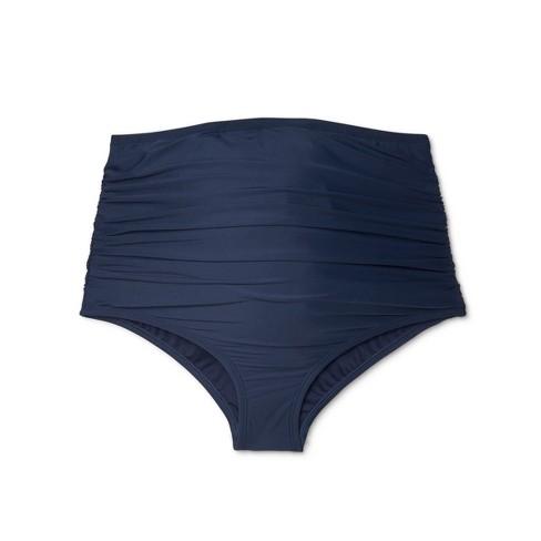 72a6aa2036a2fa Maternity High Waist Swim Bottoms - Sea Angel - Navy. Shop all Sea Angel