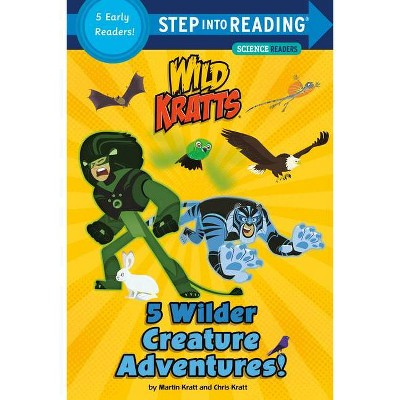 5 Wilder Creature Adventures (Wild Kratts) - (Step Into Reading) by  Chris Kratt & Martin Kratt (Paperback)