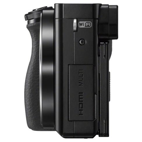 Sony Mirrorless Camera a6000 - Black (ILCE6000L/B)