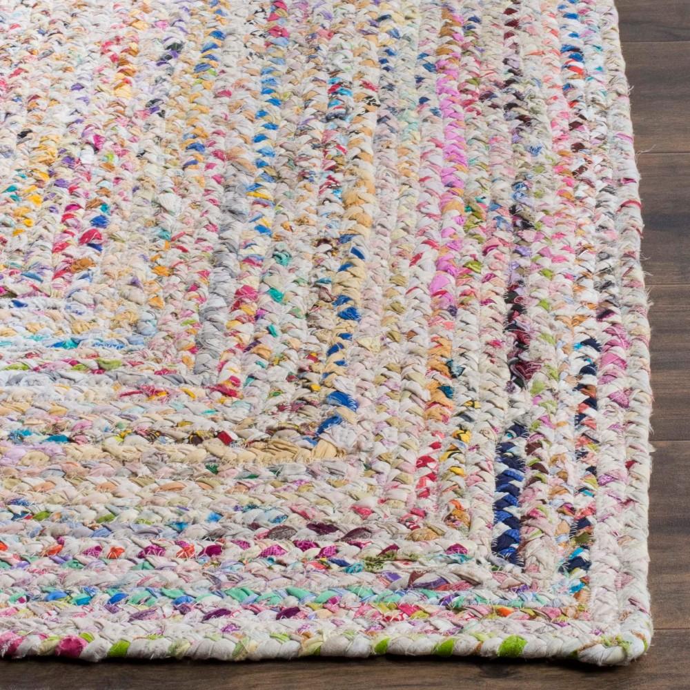 2'3x8' Swirl Woven Runner - Safavieh, Ivorynmulti-Colored