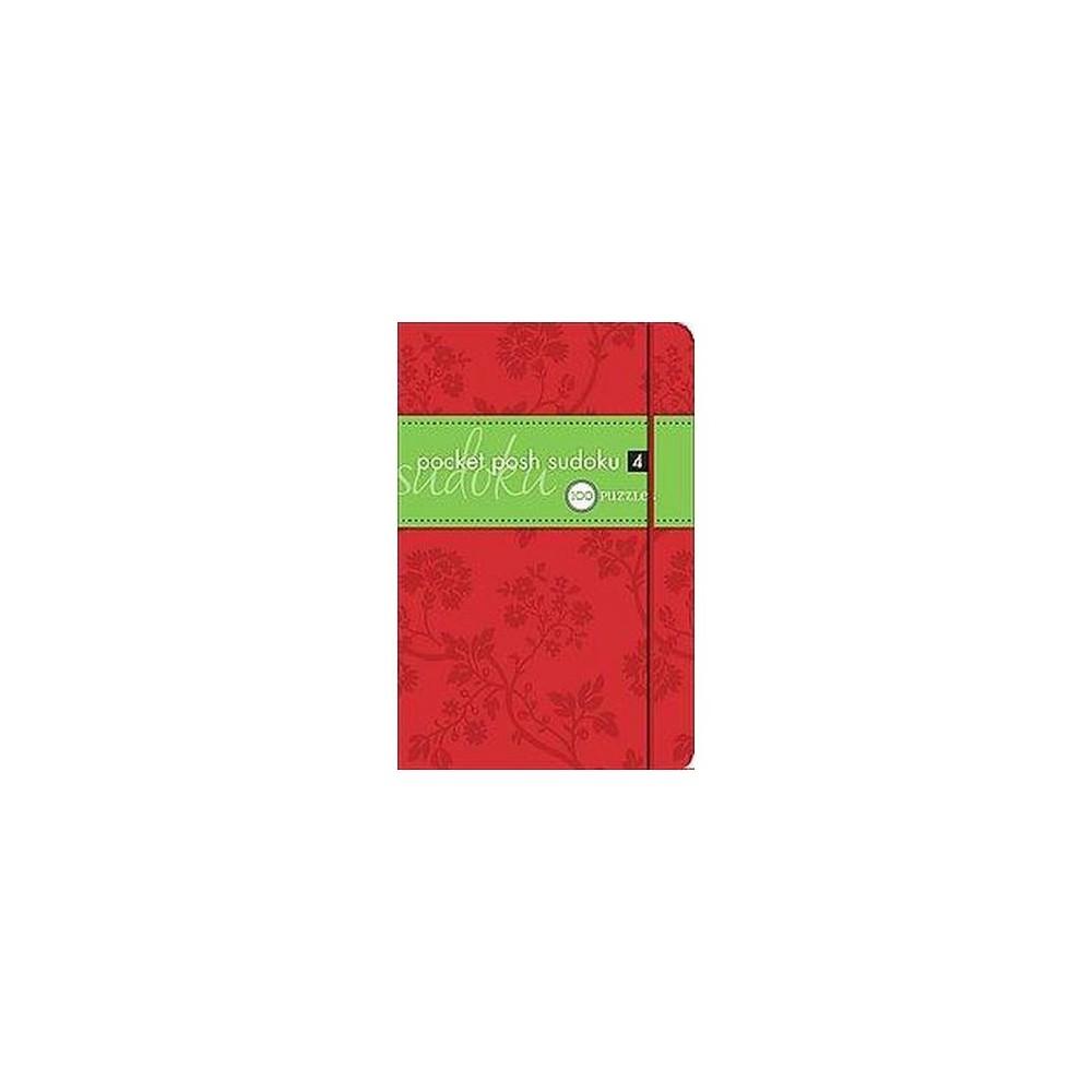 Pocket Posh Sudoku 4 (Paperback) by Society Puzzle