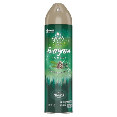 Glade Aerosol - Icy Evergreen Forest - 8oz