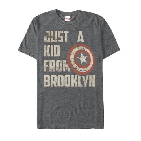 Men's Marvel Captain America Kid from Brooklyn T-Shirt - image 1 of 1