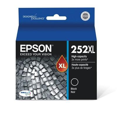 Epson 252XL Single Ink Cartridge - Black (T252XL120-CP)