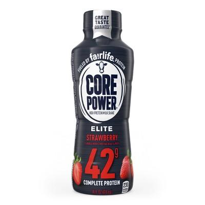 Core Power Elite Strawberry 42G Protein Shake - 14 fl oz Bottle
