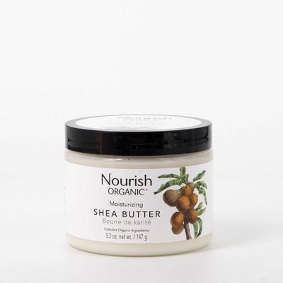 Nourish Organic Moisturizing Shea Butter - Unscented - 5.2oz