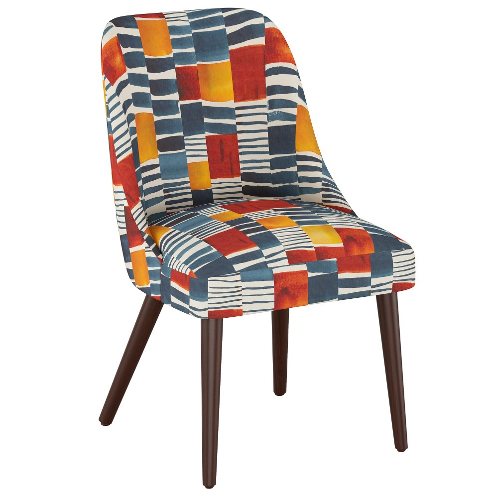 Image of Geller Modern Dining Chair Painters Block Multi - Project 62 , Painters Block Multi Oga