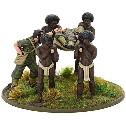Bolt Action WWII Wargame Allies Australian Medic Team (Pacific) Miniatures - image 1 of 2