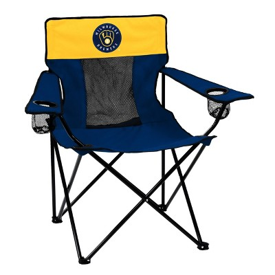 MLB Milwaukee Brewers Elite Outdoor Portable Chair