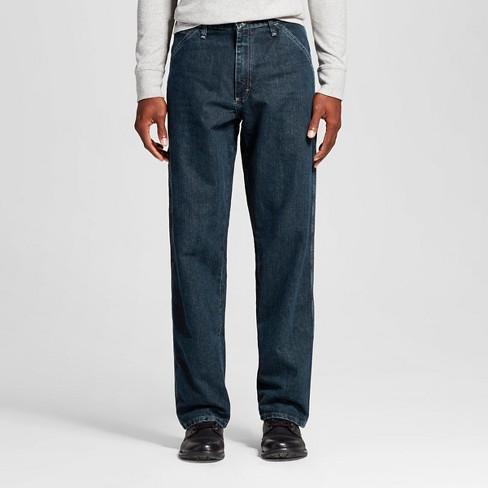 246200ff Wrangler® Men's Relaxed Fit Carpenter Jeans - Quartz 38x32 : Target