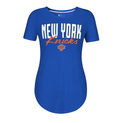 NBA New York Knicks Women's Bold Script T-Shirt
