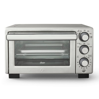 Oster Compact Countertop Oven With Air Fryer - Stainless Steel
