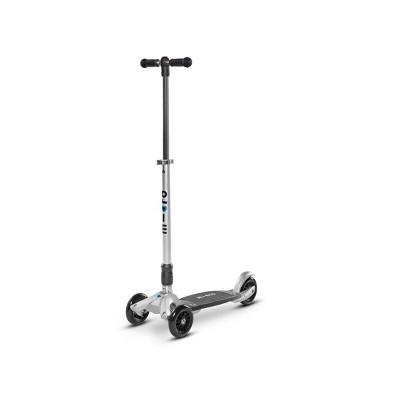 Micro Kickboard Compact 3 Wheel Kick Scooter - Silver