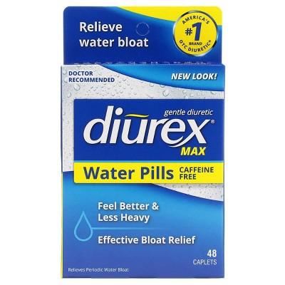 Diurex Max Diuretic Water Pills - 48ct
