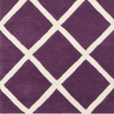 Purple/Ivory