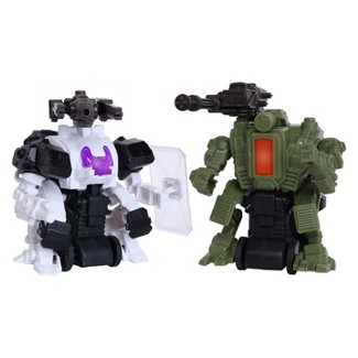 Tekforce Robot Twin Pack - Lawman & Gunny