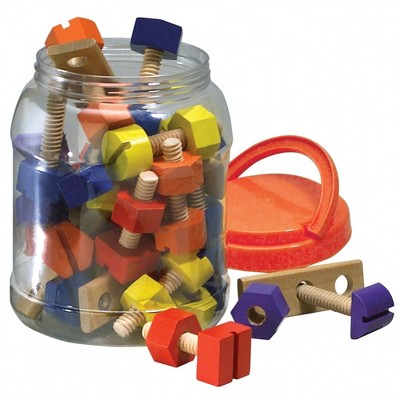 Original Toy Company Wooden Nuts and Bolts