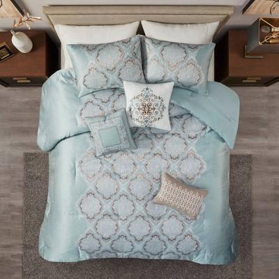 Jules Jacquard Comforter Set