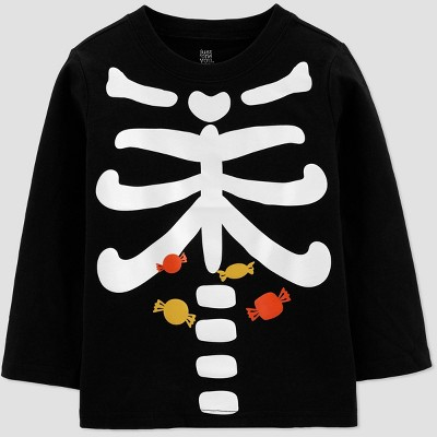 Toddler Boys' Skeleton T-Shirt - Just One You® made by carter's Black