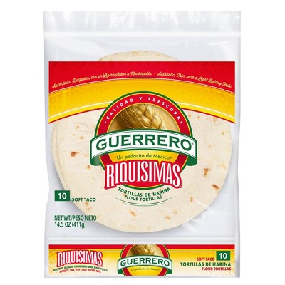 Guerrero Tortillas De Harina Riquisimas - 14.5oz/10ct