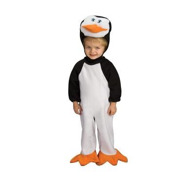 Rubie's Penguins Of Madagascar Romper Skipper Baby Costume