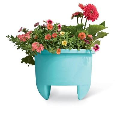 "Home Dek-Decor 12"" Planter for 6"" Railing - Gardener's Supply Company"