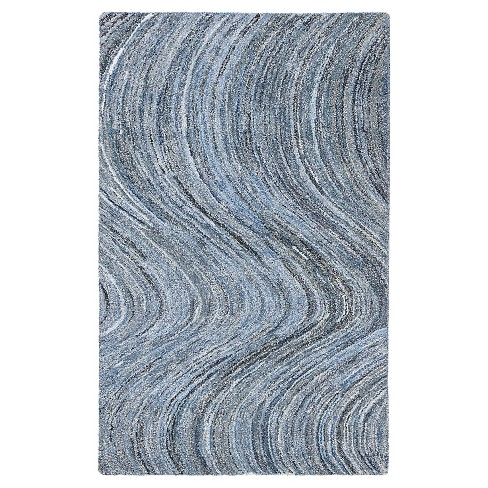 Stardust Area Rug Blue (5'x8') - Anji Mountain - image 1 of 4