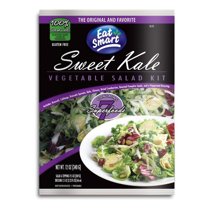Eat Smart Sweet Kale Vegetable Salad Kit - 12oz - image 1 of 3