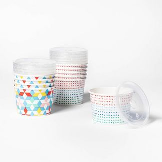Dots & Diamonds Printed Snack Cup - 10ct - Up&Up™
