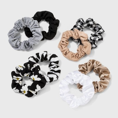 Multi-Fabric Hair Twister Set 8pc - Wild Fable™