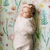 Red Rover Cotton Muslin Crib Sheets - image 4 of 4