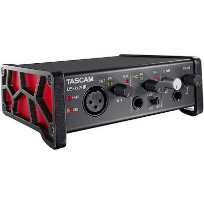 Tascam TASCAM US-1X2HR 2-Channel USB Audio Interface