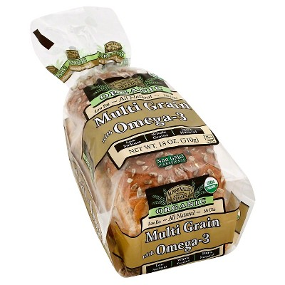 Alpine Valley Organic Multigrain & Omega-3 Bread - 18oz