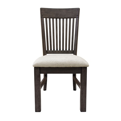 Dover Farmhouse Style Side Chair Beige - Pulaski - image 1 of 5