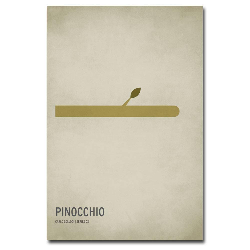 16 34 X 24 34 Pinocchio By Christian Jackson Trademark Fine Art