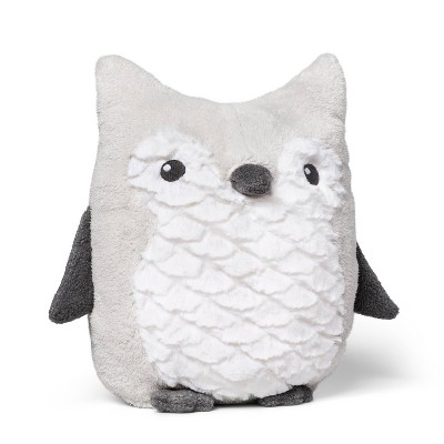 Plush Owl - Cloud Island™ Gray