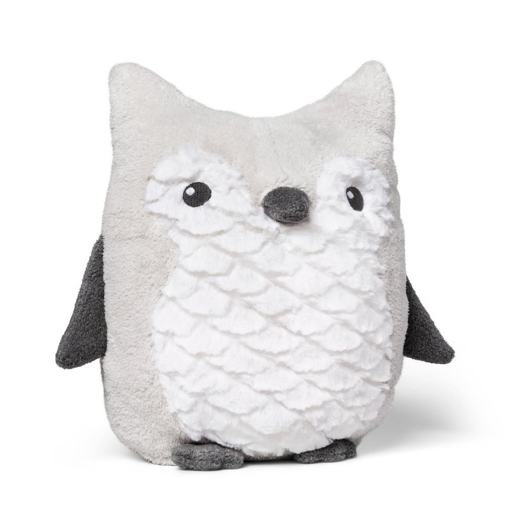 Plush Owl Cloud Island 8482 Gray