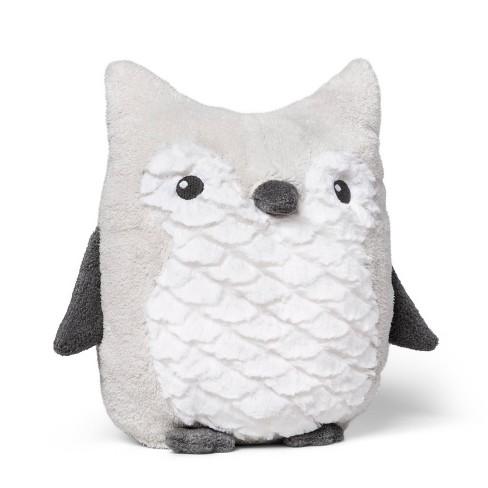 Plush Owl - Cloud Island™ Gray - image 1 of 2