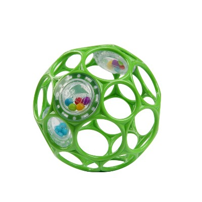 Oball Toy Ball Rattle - Green