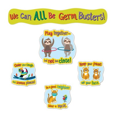 One World Germ Busters Bulletin Board Set - Carson Dellosa
